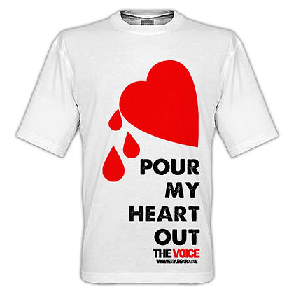 Pour My Heart Out T-Shirt