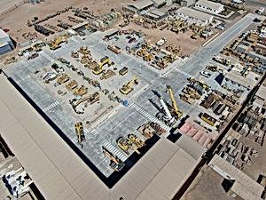 foto aerea industrial