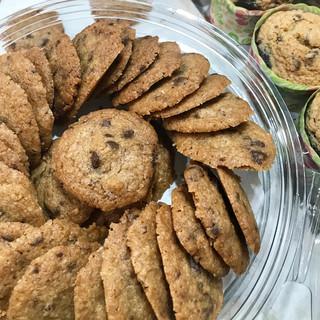 עוגיות שוקו צ'יפס מקמח טף