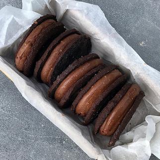 קסטה שוקולד וקרמל, עם קמח טף