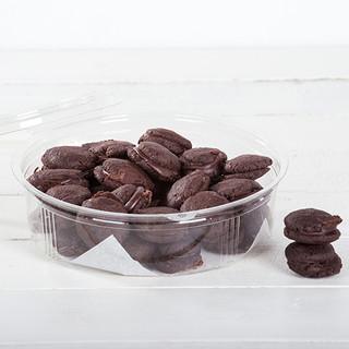 עוגיות שוקולד ומלח מקמח טף