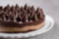 עוגת שוקולד נוגט וקפה,מקמח טף