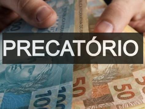 PRECATÓRIOS - OS PARCELAMENTOS E PAGAMENTOS - QUESTÃO DEFINIDA PELO STF - 27/05/2020.