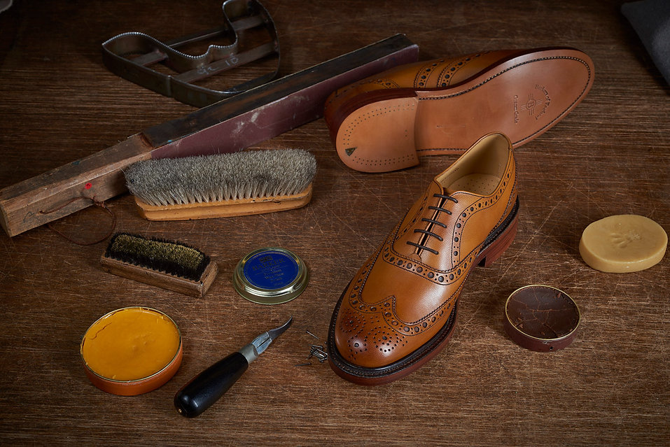 Barker Shoes Tools