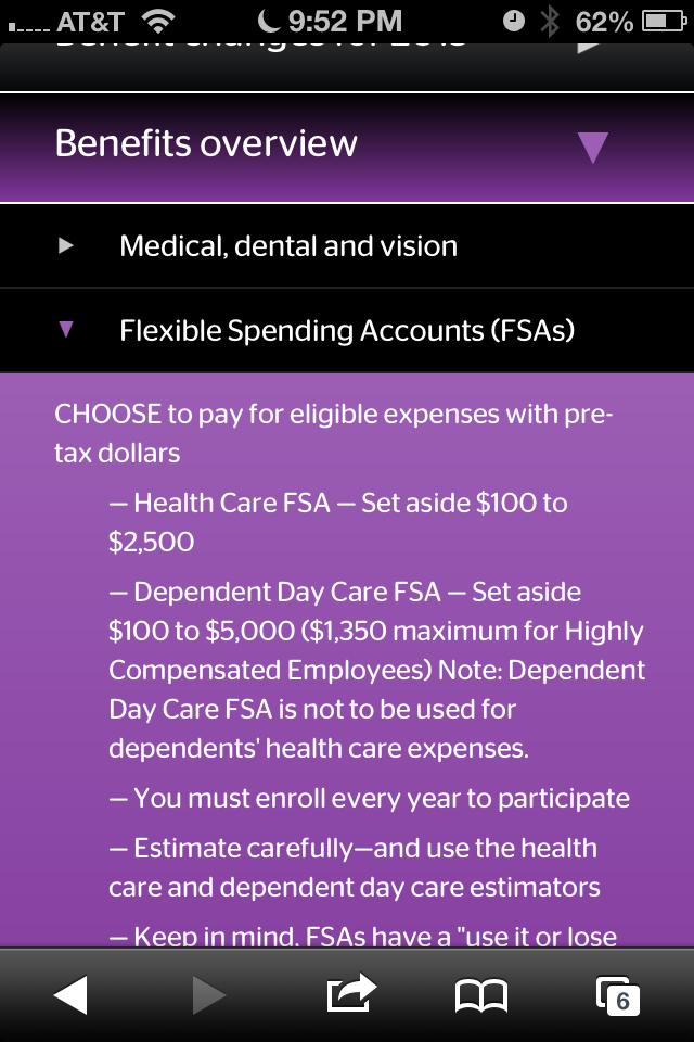 Mobile Benefits Website