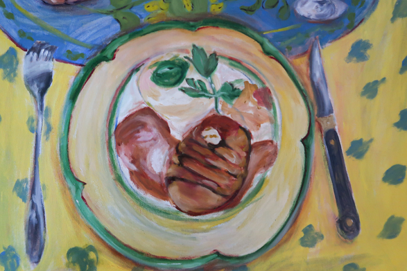 In Memory of Chef George - Detail
