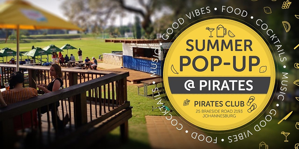 Summer Pop Up @ Pirates Sport Club