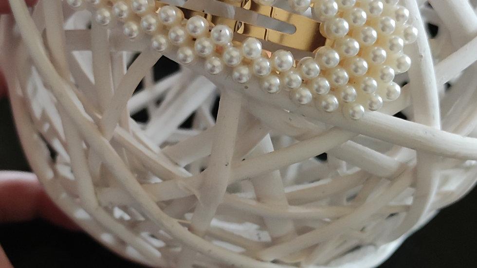 Barrette perle