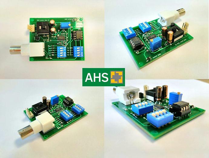 AHS hall sensor demo board