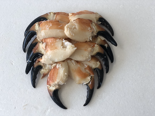 Fresh Cooked Crab Claws per Kg