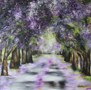 """""""Diez Años Atrás"""" 2011 Mixed media on canvas 150 x 150 cms"""