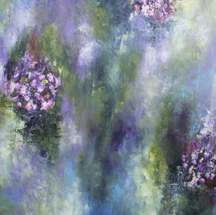"""Sueños en Abstracción"" 2011 Mixed media on canvas 100 x 160 cms"