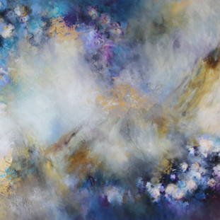 """""""Reflejos de la Huasteca"""" 2012 Mixed media on canvas 120 x 190 cms"""