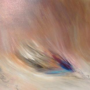 """""""Sigo Soñando"""" 2007 Acrylic on canvas 70 x 200 cms"""