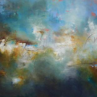"""Normandie"" 2010 Acrylic on canvas 100 x 160 cms"