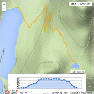 Grassi Lakes GPS Map