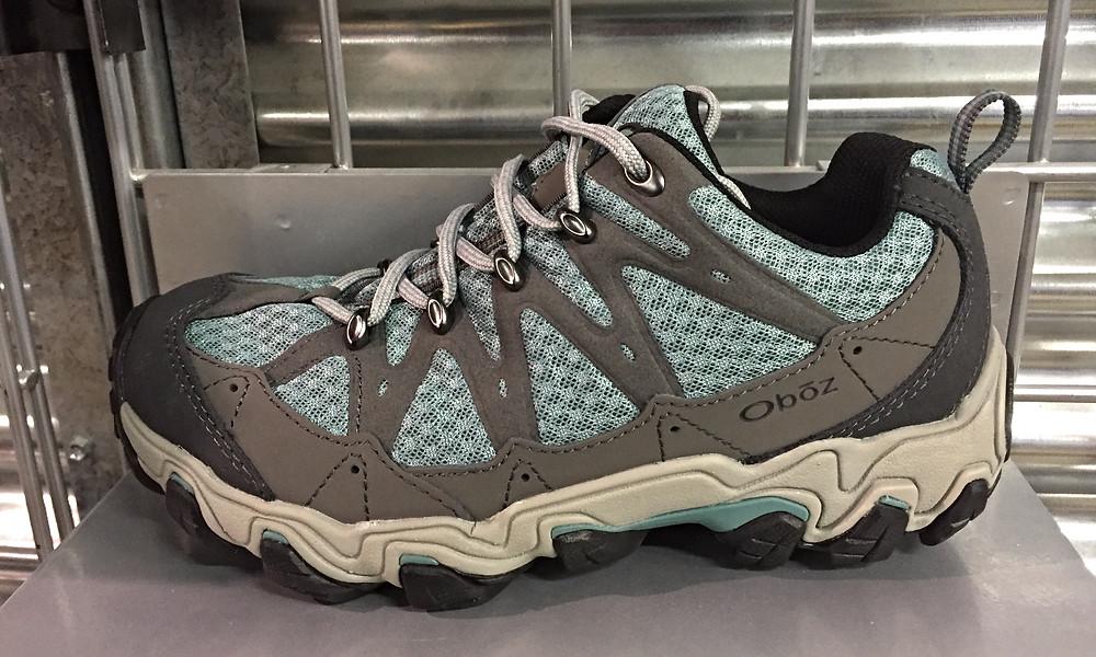 Hiking shoe example