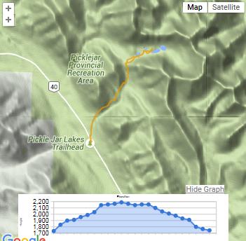 Pickle Jar GPS Map