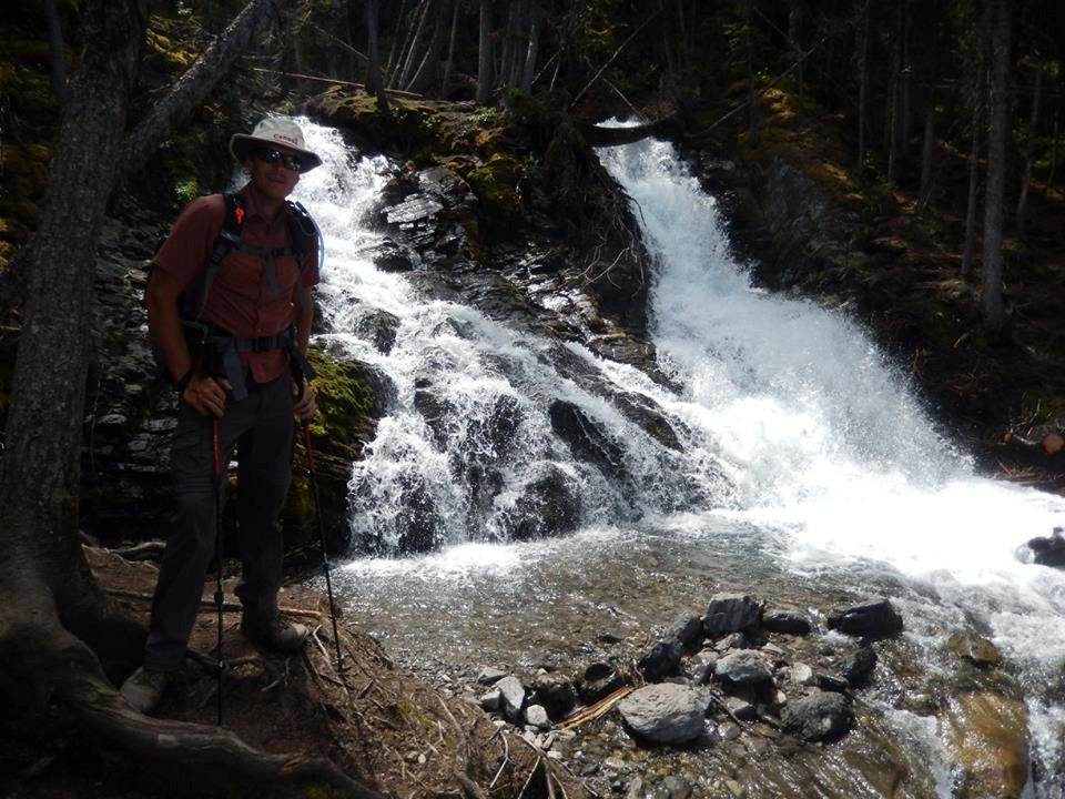 Matt and Sarrail Falls