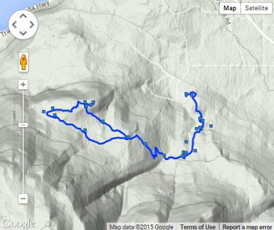 Mount Baldy Trail Map