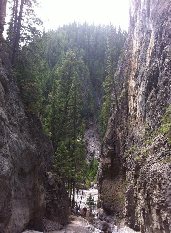 On top of Grotto Waterfall