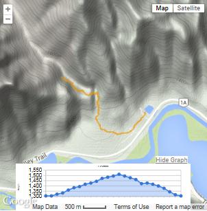 Grotto Creak GPS Map