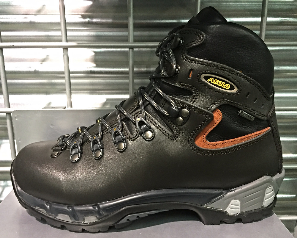 Backpacking boot example