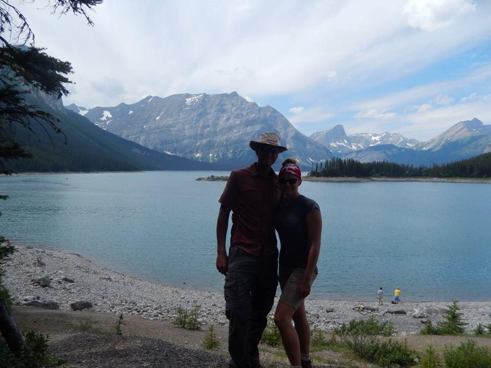 Me, Matt and Upper Kananaskis Lake