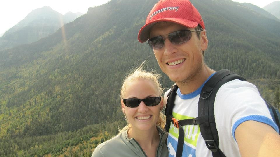 First hiking selfie together!