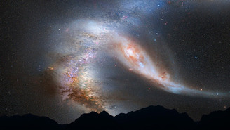 THE MILKY WAY IS MERGING WITH ANDROMEDA!