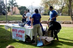 פסח - קליטת מתנדבים לשיפוץ הבתים