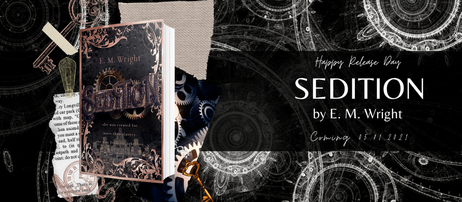 HAPPY RELEASE DAY: Sedition by E. M. Wright