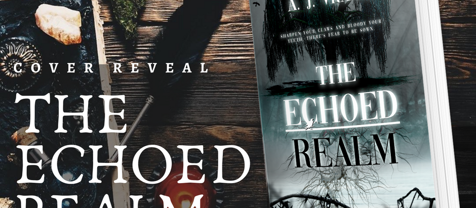 HAPPY COVER REVEAL: The Echoed Realm (The Chaos Cycle, #2) by A. J. Vrana