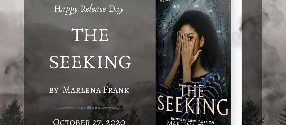 HAPPY RELEASE DAY: The Seeking by Marlena Frank