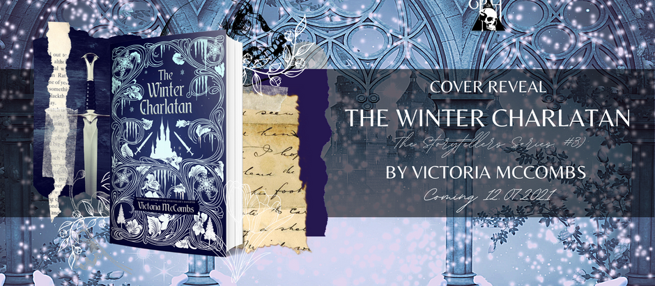 HAPPY COVER REVEAL: The Winter Charlatan by Victoria McCombs