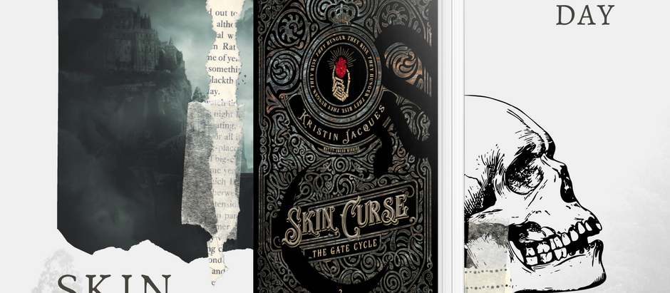 HAPPY RELEASE DAY: Skin Curse (The Gate Cycle, #2) by Kristin Jacques