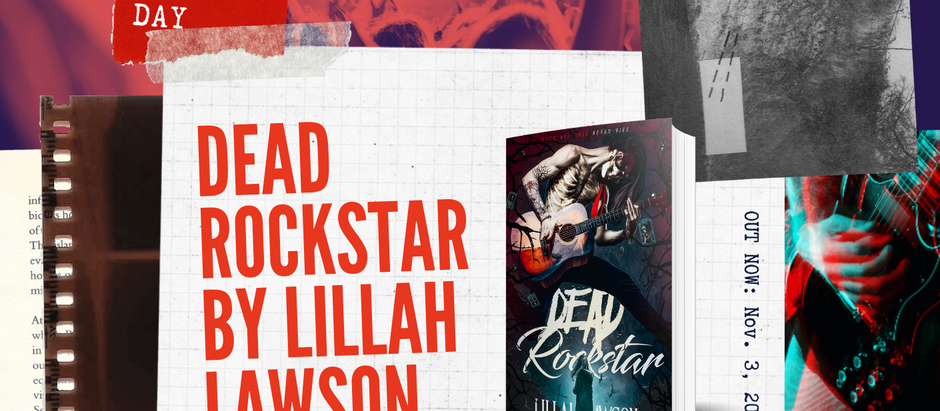 HAPPY RELEASE DAY: Dead Rockstar by Lillah Lawson