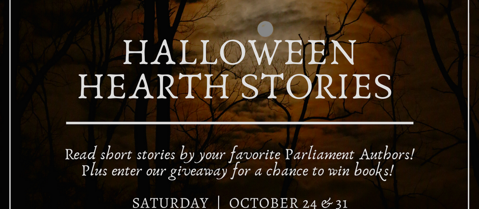 Welcome to Halloween Hearth Stories & a Gloriously Ghoulish Giveaway!