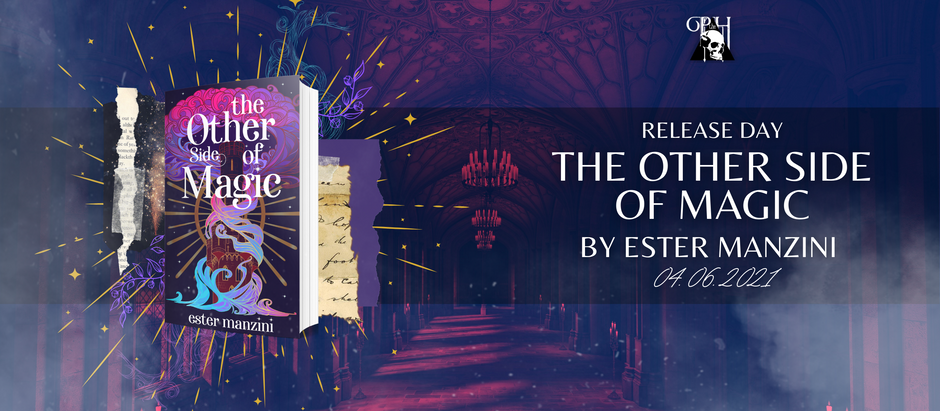 HAPPY RELEASE DAY: The Other Side of Magic by Ester Manzini