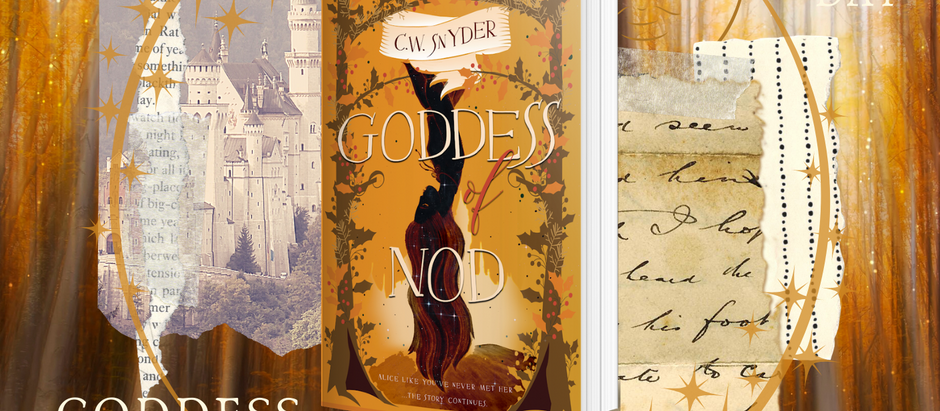 HAPPY RELEASE DAY: Goddess of Nod (The Balance, #3) by C. W. Snyder