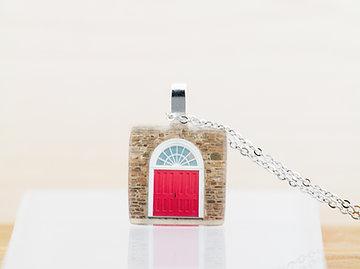 L'église, pendentif