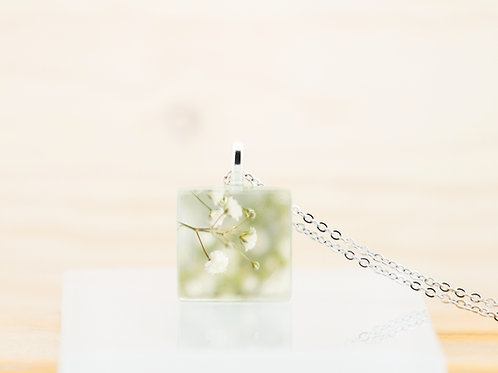 Fleurs soupir, pendentif