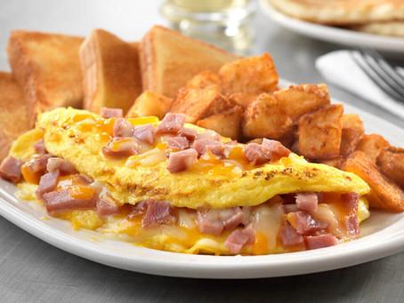 Good Morning Ham Omelet