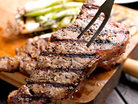 Strip Steaks With Chili Broccolini