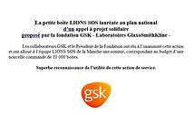 Lions sos laureat GSK