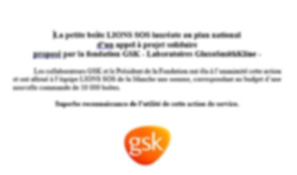 lions sos laureat fondation gsk