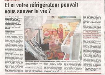 Article voix du nord 17/03/2014, Club LIONS Voix des Dames Cambrai