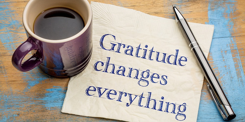 Gratitude Workshop (free, online)