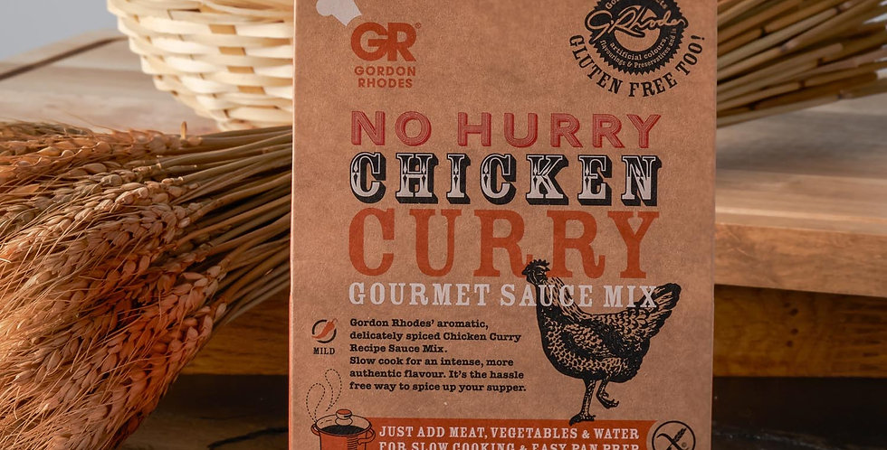 Gordon Rhodes No Hurry Chicken Curry