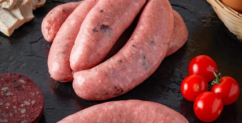 Pork Sausages (Lawrence of Leamore) 750g Pork and Black Pudding